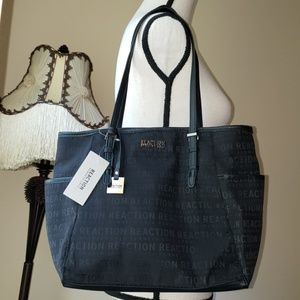 Kenneth Cole Reaction Logo Tote Bag